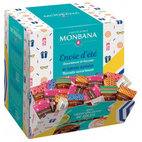 Assortiment de 200 biscuits Monbana - Envie d'été