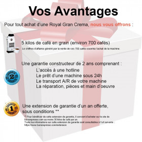 Avantages Royal Gran Crema