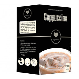 Sticks Cappuccino Nature - Inspiration par Lavazza (x10)