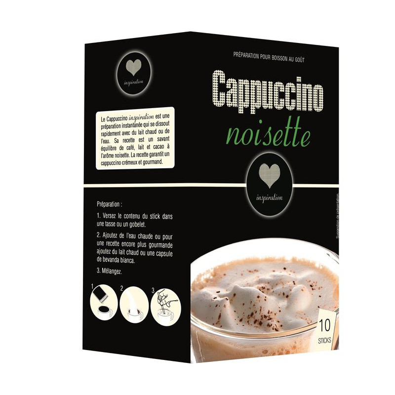 Sticks Cappuccino Noisette - Inspiration par Lavazza (x10)