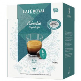 Café Royal pure origine Colombie, capsule compatible Dolce Gusto (x 16)